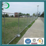Galvanized Chain Link Temporary Barrier