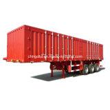 40t Payload 3 Axles 40ft Van Box Truck Trailer