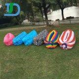 Fast Inflatable Lounger Air Sleep Camping Sofa Beach Sleeping Bag