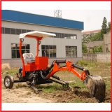Tractor with Mini Backhoe Loader, Towable Backhoe (TB-001/TB-002, EPA/CE approval)