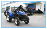 Lz404 Farm Tractor with Front End Loader & Backhoe
