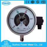 150mm Bottom Full Stainless Steel Electric Contact Pressure Gauge