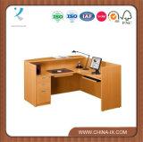 Wooden L Shape Contemporary Reception Desk