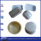 Aluminum Foil Container with Coating (F35075-W)