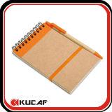 64k Size Kraft Cover Spiral Notebook