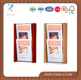 Wall Mounted 2 Tiered 2 Pocket Literature Stand