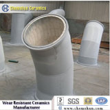 China Manufacturer Supplier Ceramic Lined Pipe Elbow for Pneumatic Fly Ash