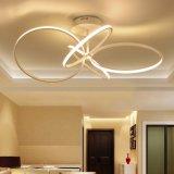 Most Popular Indoor Big Size LED Fan Shape Metal Chandelier
