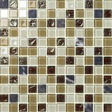 Manufacture of Crystal Glass Mosaic Floor and Wall Design