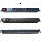 19 Inch UK Type Universal Socket Network Cabinet and Rack PDU (1)