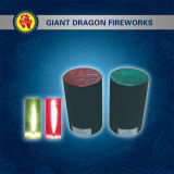 Fireworks 4sec 2m Holy Fire (red) 30sec Smoke Green