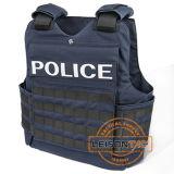 Ballistic Vest of Kevlar or Tac-Tex with Nij Standard Bullet Proof for Police