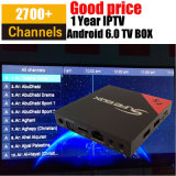 Arabic IPTV Turkish French Sky Sports Kodi 17.1 4K E8 Android TV Box Better Than Qhdtv T95