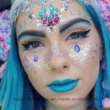 Custom Festival Crystal Face Tattoo Glitter Rhinestone Sticker (S082)