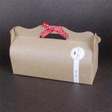 Custom Cupcake Boxes/Kraft Paper Cup Cake Box/Cheap Paper Cupcake Box