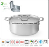 3 Ply Body Induction Low Pot Casserole