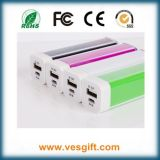 New Gift Mini Power Bank 1800mAh portable Power with Cable