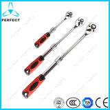 Telescopic Handle Quick Release Ratchet Wrench