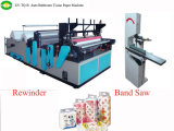 Direct Manufacturer Low Price Toilet Paper Producting Machine with PLC Control