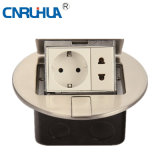 Round German Round and Flat Floor Socket