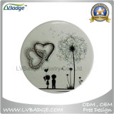 Promotion Gift Custom Printed Metal Compact Mirror