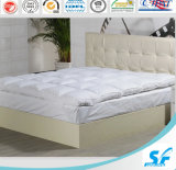 Wholesale White Duck/Goose Feather Filled Mattress Topper/Mattress Protector