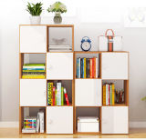 New Design Bookcase with Doors