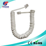 PVC PU Spiral Telephone Coiled Cable