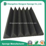 Wedge Acoustic Absorbing Sponge Foam Charcoal PU