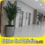 Large Indoor Design Stainless Steel Flower Pot Planter Pot