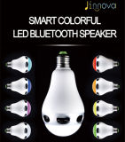 Adjustable Colors E27 LED Bulb Wireless Bluetooth Speaker for Smart Phone