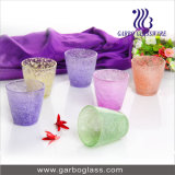 190ml Colorfull Frosted Glass Water Cup