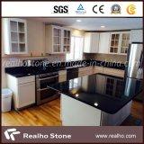 China Absolute Black Granite/ Mogolia Black Granite for Kitchen Tops