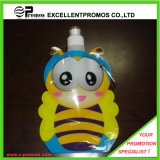 12oz or 350ml Bee Shape Foldable Plastic Water Bottle (EP-B125511)