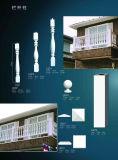 Polyurethane Balustrade Railing Vase Column Polished Home Use