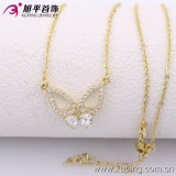 Xuping Fashion 14k Gold Color Butterfly Necklace (42526)