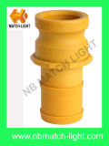 Injection Molding Nylon Grooved Plastic Camlock Fittings Adapter Type E