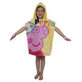 100% Cotton Kids Printe Bath Towel with Hood / Cap