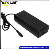 96W 24V4a 12V8a Laptop Adapter with 2-Feet Round Plug Wzx-888
