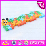 Wholesale Educational Animal Design Wooden Alphabet Puzzle Toy for Children W14I016