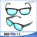 Cheap Women Stylish Prescription Fashion Sun Glasses with Blue Lens