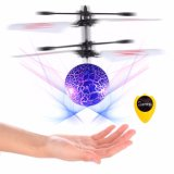 Lighted Blue Ball Colorful Induction Aircraft Attractive Hotsale Toy