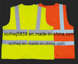 Cheapest Price Safety Vest/Workwear Mesh Safety Vest Road Safety Equipment Protection Vest/Most Popular En471 Class 2 / Ce High Visibility Reflective Vest