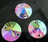 Flat Back Sew on Faceted Crystal Stone for Garment Accessory