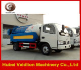 Dongfeng 2000L Sewage Suction Truck with 1000L Water Cleaning Tanker