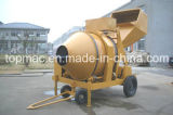 Diesel Engine Concrete Mixer with Hydraulic Hoist Hopper