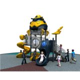 Outdoor Playground of Robot Theme for Children Amusement Parks