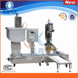 2016 Newly Semi-Automatic Liquid Filling Machine with Capper for Industrial Paint