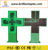 Programmable Iron Cabinet Outdoor LED Pharmacy Cross