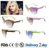 2016 New Fashion Vintage Cat Eye Women Sunglasses Retro Metal Sun Glasses